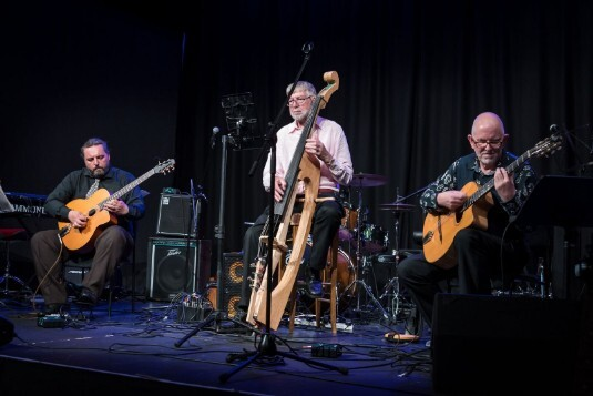 Les Gitanes at Dunoon Jazz Festival